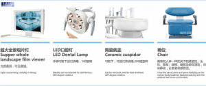 Medical Supply Special Design Luxury Folding Dental Unit pictures & photos