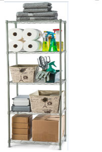 5 Tiers Powder Coated Mini-Wire Shelving pictures & photos