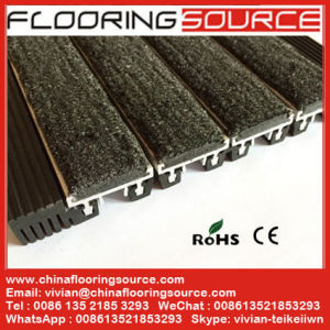 Aluminum Flooring Roll up Matting Indoor and Outdoor for High Traffic Entrance Areas