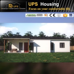 Africa Sytely Mozambique Designed Prefabricated Steel Frame Villas with Electric pictures & photos