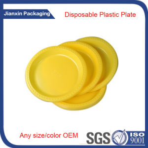 Disposable Plastic Multicolor Round Plate Container pictures & photos