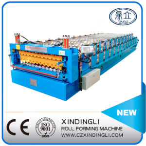 Russian Popular Style C10 Roof/Wall Panel Roll Forming Machine pictures & photos