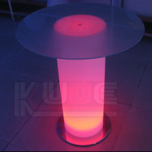 Round Tables Desk Top PE with Glasses pictures & photos