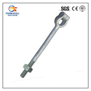 Forging Electrric Power Fitting Long Shank Eye Anchor Rod pictures & photos