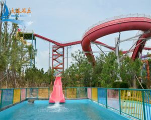Water Roller Coaster Water Slide for 2 People pictures & photos
