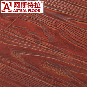 12mm Waterproof HDF Registered Embossed Laminate Flooring (AT002) pictures & photos