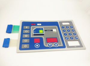 Custom Poly Dome Pillow Embossed Membrane Window Switches