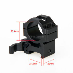 Aluminum Rifle Scope Mount Outdoor Hunting Scope Mount for 21.2mmrail Cl24-0139 pictures & photos