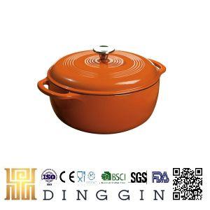 Double Use Cast Iron Milk Pot Manufacturer pictures & photos