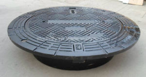 Ductile Casting Iron High Strenth Manhole Covers with Frames pictures & photos