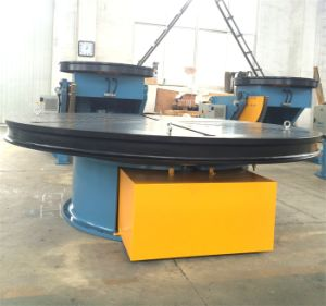 Auto Rotary Tube Pipe Seam Welding Floor Turn Tables