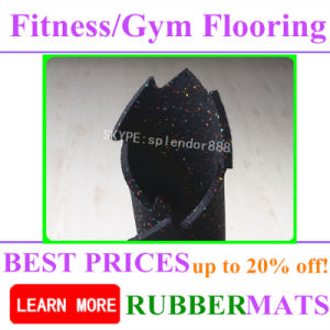 Sound Insulation Anti-Slip Rubber Flooring for Fitness Room pictures & photos