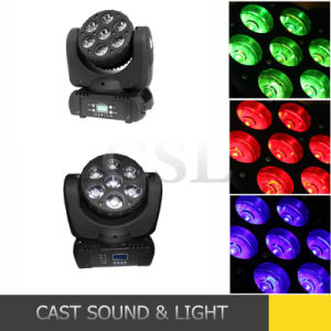 10W 7PCS Head Moving LED Effect Light pictures & photos
