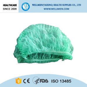 Disposable Bouffant Hairnet Surgical Hair Net Cap pictures & photos