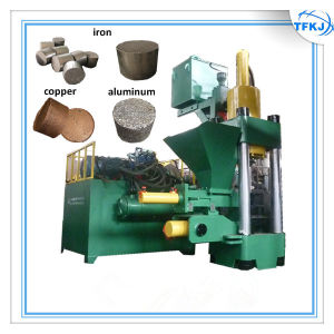 Metal Recycle Hydraulic Briquette Press pictures & photos
