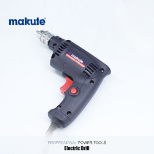 Makute 260W 6.5mm Electric Power Tools Hand Drill Machine (ED001) pictures & photos