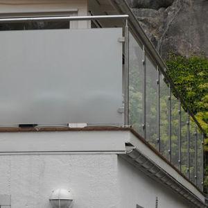 Staircase /Balcony Glass Balustrade (PR-13) pictures & photos