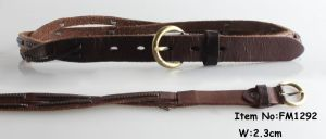 2018 Fashion Leather Belts for Ladies (FM1292) pictures & photos