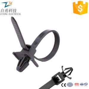 Push Mount Nylon Cable Ties with Wings pictures & photos