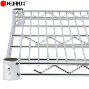 NSF 5 Tiers Heavy Duty Steel Wire Storage Bin Rack for Warehouse pictures & photos