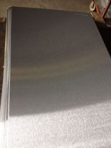 Brushed Aluminum Sheet for Anodizing Used pictures & photos