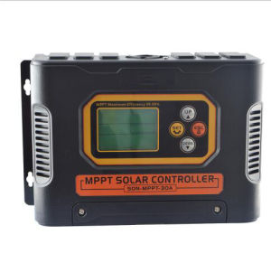 12V/24V/48V 10A to 60A MPPT Solar Charge Controller pictures & photos