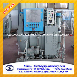 Hot Sale 30 Persons Black and Grey Water Marine Sewage Treatment Plant pictures & photos