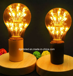A19 firework starry LED bulb energy saving with LED beads pictures & photos