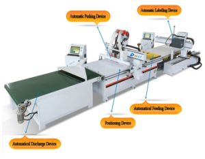 Panel Furniture Production Line CNC Wood Router Cutting Machine pictures & photos