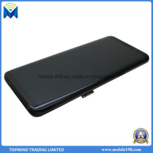 LCD Screen Digitizer Assembly with Front Cover for Samsung Galaxy S8 G950f G950u pictures & photos