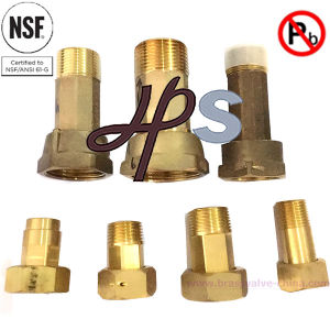 NSF Approved 1/2′′-2′′ Water Meter Coupling of Bronze or Brass Material pictures & photos