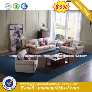 Italy Design Classic Wooden Office Furniture Leather Office Sofa (HX-SN8078) pictures & photos