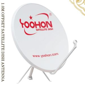 1.0m Outdoor Offset Satellite Dish Antenna with SGS Certificate pictures & photos