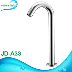 Jd-A19 SS304 Square Sensor Water Tap Automatic Hand Free Basin Mixer pictures & photos