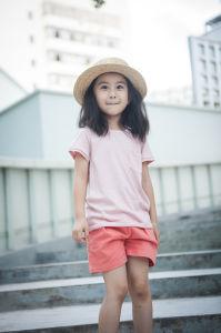 100% Cotton Unisex Kids Clothes T-Shirt for Summer pictures & photos