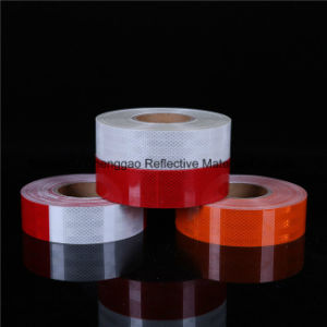 2016 High Visibility Pet Micro Prism Retro Reflective Material Tape pictures & photos