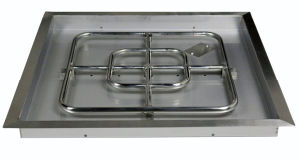 """30"""" Square Stainless Steel Drop in Fire Pit Pan pictures & photos"""