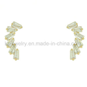 Hot Selling Brass Jewellery Costume Jewelry Plated Ear Stud (KE3129) pictures & photos