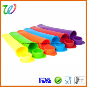 FDA LFGB Approved Factory Novelty Food Grade Silicone Ice Cream Cone Mold pictures & photos