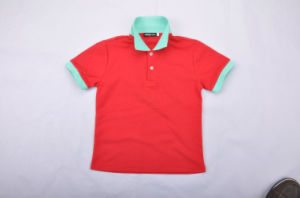 Wholesale Classics Red Polo Shirt for Men pictures & photos