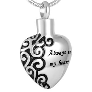 316L Stainless Steel Heart Cremation Pendant Cremation Necklace pictures & photos