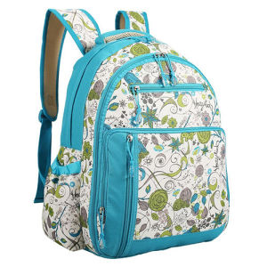 Polyester Travel Baby Diaper Nappy Backpack Changing Mummy Bag pictures & photos