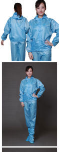 with High Quality ESD Anti-Static Cleanroom Garments pictures & photos