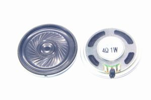 40mm 4ohm 0.5-1.5W Mylar Speaker with RoHS pictures & photos