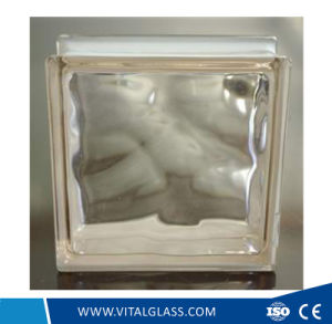 High Quality Pink Cloudy Glass Block for Decoration (G-B) pictures & photos