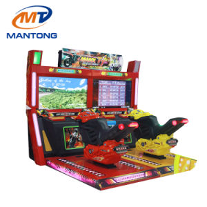 Low Price Tt Moto 42 Inch Race Moto Bike Simulator Coin Operated Driving Car Arcade Racing Motorcycle Game Machine pictures & photos