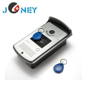7 Inch ID Card with Doorbell Intercome Video Door Phone pictures & photos