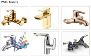 Sanitary Faucet Bright Nickel Chrome Decorative Film PVD Coating Machine pictures & photos