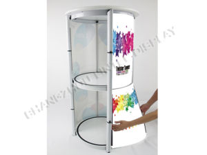 Promotion Rotating Acrylic Counter spiral Showcase pictures & photos