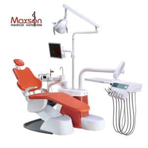 Luxury Integral Dental Unit Chair Ce Approved Electric Treatment Machine Noiseless